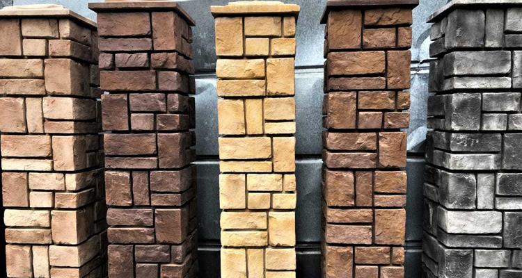 Изготовление декоративных заборных блоков в Набережных Челнах